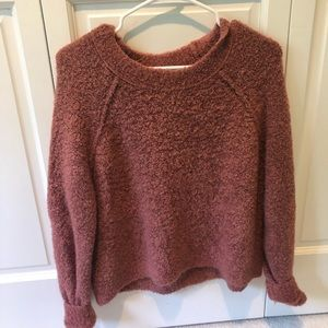 Aerie Mauve Pink Sweater
